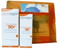 Dermagor Creme Solaire SPF 50 100 ml & Dermagor Emulsion Solaire SPF 20 40 ml