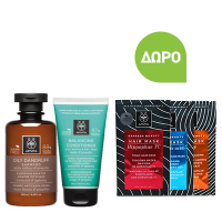Apivita Oily Dandruff Shampoo 250 ml & Balancing Conditioner 150 ml & Δώρο Hair Mask 20 ml