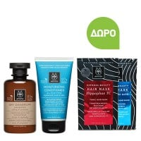 Apivita Dry Dandruff Shampoo 250 ml & Moisturizing Conditioner 150 ml & Δώρο Hair Mask 20 ml