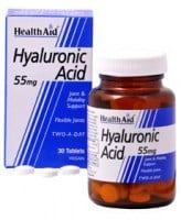Health Aid Hyaluronic Acid 55mg 30 tabs