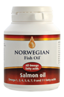 Norwegian Fish Oil Salmon οil 120 caps