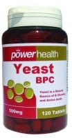 Power Health Power Yeast  500 mg 120 caps
