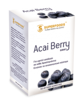 Superfoods Acai Berry Eubias 300 mg 50 caps