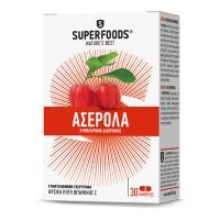 Superfoods Ασερόλα Eubias 300 mg 50 caps