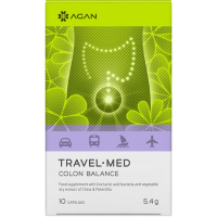 Agan Travel-Med Colon Balance 10 vcaps