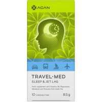 Agan Travel-Med Sleep & Jet lag 10 chewable tabs