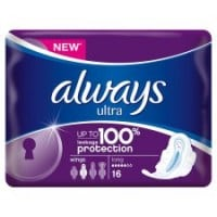 Always Ultra Long Plus Pads with wings 16 pcs