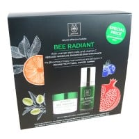 Apivita Bee Radiant κρέμα ελαφριάς υφής 50 ml & Bee Radiant serum 30 ml