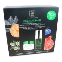 Apivita Bee Radiant κρέμα πλούσιας υφής 50 ml & Bee Radiant serum 30 ml