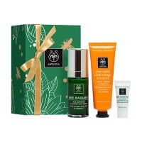 Apivita Face Radiance Set Bee Radiant Serum 30 ml & Face Mask Orange 50 ml