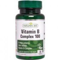 Nature's Aid Mega Vitamin B Complex Time Release 30 tabs