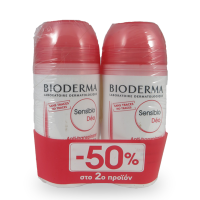 Bioderma Sensibio Anti-Traspirant Deo roll on 50 ml 1+1