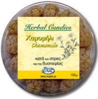 InoPlus Natural Herb Candies Χαμομήλι 70 γρ