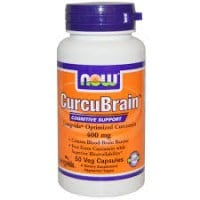 Now Curcubrain Longvida 400 mg 50 Vcaps