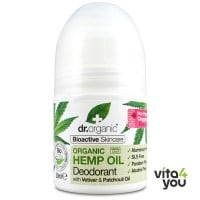 Dr Organic Hemp Oil Deodorant 50 ml
