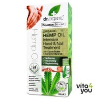 Dr. Organic Organic Hemp Oil intensive Hand and Nail Treatment 100 ml