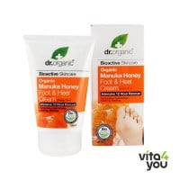 Dr. Organic Manuka Honey Foot and Heel Cream 125ml