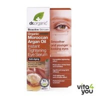 Dr. Organic Moroccan Argan Oil Instant Tightening Eye Serum 30ml