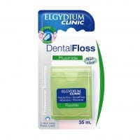 Elgydium Dental Floss Fluoride 35 m