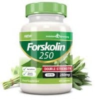 Evolution Slimming Forskolin 250 mg Double Strength 60 caps