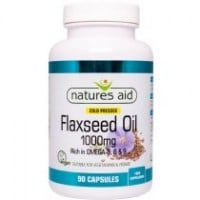 Nature's Aid Flaxseed oil 1000 mg 90 caps