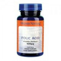 Higher Nature Folic acid 400 mg 90 tabs