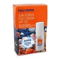 Frezyderm Sunscreen Face Cream SPF 50+ 50 ml + 35 ml Δώρο