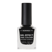 Korres Gel Effect Nail Colour 100 Black 11 ml