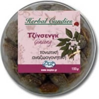 InoPlus Natural Herb Candies Τζινσενγκ 70 γρ