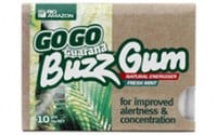 Rio Trading Guarana Buzz Gum 10 gums