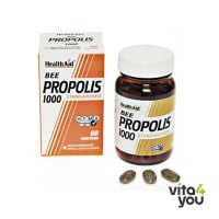 Health Aid Bee Propolis 1000 mg standardised 60 tabs