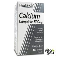 Health Aid Calcium Complete 800 mg 120 tabs