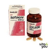 Health Aid Isoflavone soy 30 tabs