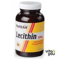 Health Aid Lecithin 1200 mg (unbleached)  100 caps