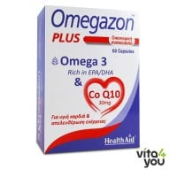 Health Aid Omegazon Plus Omega & CoQ10 60 caps