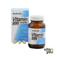 Health Aid Vitamin B99 Complex prolonged release 60 tabs