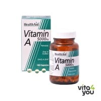 Health aid Vitamin A 5000 IU 100 caps
