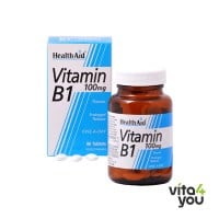 Health Aid Vitamin B1 (Thiamin) 100 mg prolonged release 90 tabs