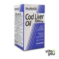 Health Aid Cod liver oil 1000 mg 30 caps