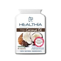 Healthia Virgin Coconut oil 1000 mg 60 caps