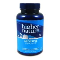 Higher Nature Arginine 120 caps