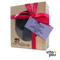 Home Spa Gift Set Fig & Apple Body Mousse 200 ml & Soap 120 gr