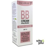 Inca Rose BB cream Hyaluronic SPF15 Light Shade 30 ml
