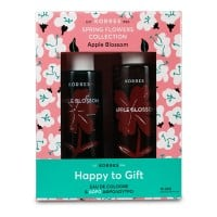 Korres Eau de Cologne Apple Blossom 100 ml & Δώρο Showergel Apple Blossom 250 ml