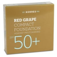 Korres Κόκκινο Σταφύλι Compact Foundation SPF50+ 8 gr