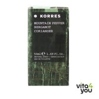 Korres Άρωμα Ανδρικό Mountain Pepper Bergamot  Coriander 50ml