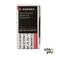 Korres Άρωμα Ανδρικό Vetiver Root Green Tea Cedarwood 50 ml