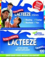 Lacteeze 100 chewable tabs