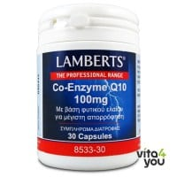 Lamberts Co-Enzyme Q10 100 mg 30 caps
