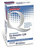 Lamberts Co-Enzyme Q10 100 mg 60 caps